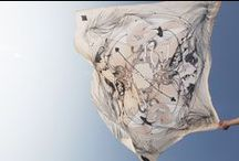 Scarves - foulard - Turban - fabric / Scarf - scarves - foulard - etoles - imprimés sur soie - silk - cotton fabric - luxury textile