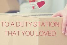 PCS Tips, Posts, & Jokes / Tips, tricks, checklists and jokes for moving as a military family.