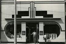 Retro - ART DECO - / art deco and art nouveau, architecture and design bauhaus, lalique, art and cratft