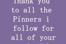 A thank you, disclaimer and other pininterest things. / The disclaimer is for those that think that any of these pins are mine.  They are not mine.  I love others ideas, pictures, etc.  They are so much fun to look at...and since I am a crafter these pins help me to think of ideas for my quilts or my crafting.  I also love the free patterns we can get off of some of the sites.  Please be so kind as to read the Disclaimer and the thank you I have put on the Board for all to see.  A big Thank You to all pinners.