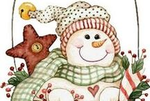 Christmas Snowmen / Okay so now you know my Christmas favorite craft item to make.  Snowmen can be cute, sad, happy, funny, and just down right make you laugh.