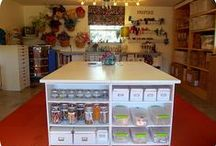 Craft Room Ideas / I'm trying to set up my family room as a Craft Room for my quilting, sewing and my numerous crafts.