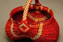 Art - Basket Weaving / I have never tried this...but would like to.