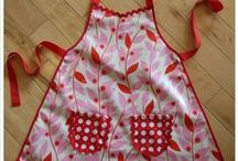 Sewing - Aprons / Love aprons especially vintage.