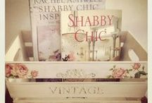 Shabby Chic / I have loved shabby chic since before it was called shabby chic.  I am going to redo my bedroom into shabby chic SOON.