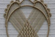 Crafting Ideas - Macrame / I did so many Macrame items in the 70's and 80's ... these are more ideas to try.