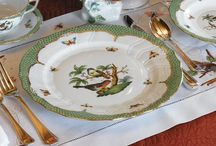 Table Settings and China / by Elaine Vierling