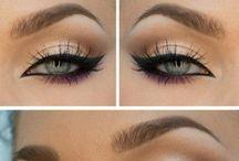 Make-up / Inspiratie voor makeuplooks, oogschaduw, eyeliner en lipstick.