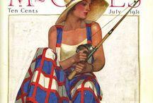 Vintage -  magazines
