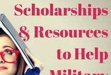 Military Spouse College Student / Working on earning your college degree when you're a military spouse? Here are some tips and tricks to get you closer to your diploma. Information includes scholarships for military spouses, understanding the Post-911 GI Bill and finding time to study.