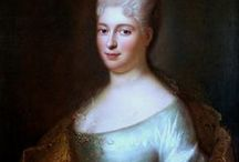 Elżbieta Sieniawska / Elżbieta Sieniawska was influential woman politician in the Polish-Lithuanian Commonwealth called the uncrowned Queen of Poland during rococo period