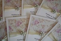 Wedding Invitations & Wedding Stationery by Peachy Impressions / Luxury handmade wedding invitations and stationery designed and created especially for you by Peachy Impressions.