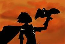 Robin and Raven... and Teen Titans. But Robin and Raven. / Robin y Raven son perfectos.  [Robin = Dick Grayson]