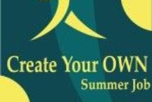 Create Your Own Summer Job / If we want our kids to grow into passionate, enthusiastic adults, why not show them now that they can turn that expensive hobby into their first profit center. http://www.craftbizblog.com/guides-courses/create-job/