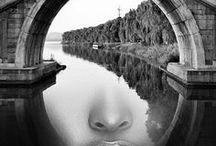Illusionen - optische Inspirationen / Optische Täuschungen und Fotokunst
