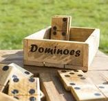 Garden dominos - pallet wood creations