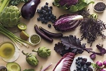 Purple & Blue Inspired Dishes / A collection of recipes that feature purple foods like ★ Acai Berry ★ Blackberries ★ Blueberries ★ Purple Cabbage ★ Eggplant ★ Figs ★ Plums ★ Purple grapes ★ Prunes ★ Red Onions