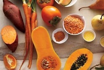 Orange Inspired Dishes / A collection of recipes that feature orange foods like ★ Apricots ★ Butternut squash ★ Cantaloupe ★ Carrots ★ Clementines ★ Grapefruit ★ Kumquats ★ Mangoes ★ Nectarines ★ Oranges ★ Papaya ★ Peaches ★ Persimmons ★ Pumpkin ★ Rutabagas ★ Sweet Potatoes ★ Tangerines ★ Winter squash ★ Yams