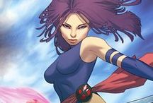 Psylocke  / My favorite sexy hero girl