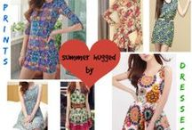 Darling Dresses / Exclusively available @ http://www.fashionscrapbook.com/