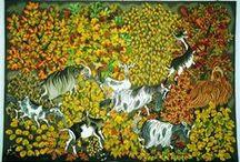 Tapestry needlepoint canvas / by Brigitte BLANC