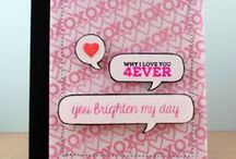 You've Got Love Mail / Projects using the You've Got Love Mail stamp set and coordinating digital cutting files.