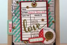 The Write Stuff: Love Story / Projects using the The Write Stuff: Love Story stamp set and coordinating digital cutting files.