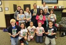 Mr. Lemoncello Weekend / Author Chris Grabenstein visits Falmouth for Escape from Mr. Lemoncello's Library events