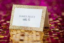 Bryllup - bordkort