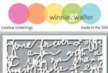 w&w Creative Screenings - Stencils