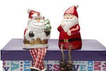 Jolly Season 2014 / Everything Christmasy from ceramic ornaments and home decor to novelty and unique items from $2.80