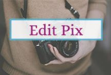 Edit Images for Your Business / Learn all the tips how to edit images for a better appearance online. Boost your social media with stunning pictures...