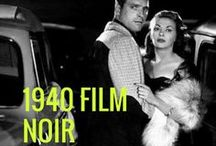 Film Noir / 1940s Film Noir is my thme for the 2017 AtoZChallenge. Everyone knows a film noir when they see it, right? It is something so characteristic and so ingrain in our aesthetic sense that we don't even think about it. Still, film noir is one of the most slippery, blurry, ethereal subjects of the film industry.