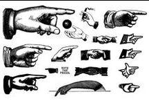 weird : hands / by Griffin Design