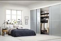 Bedroom / Elfa is offering flexible interior products and made to measure sliding doors.