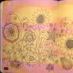 Art, Doodle, Love Etc. / My pages from Art, Doodle, Love and Doodle Diary by Dawn DeVries Sokol. These books are a great idea.