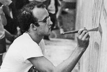 Keith Haring American Artist / Friend of Andy Warhol and Jean-Michel Basquiat