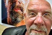 Chuck Close American Painter / Photo realist