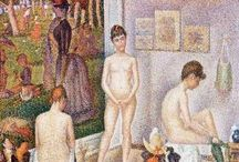 George Seurat French Painter / Paintings