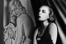 Tamara de Lempicka / Stylized, deco artist  / by Kent Harrington