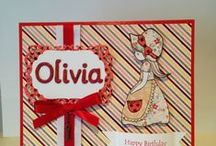 Personalised Custom Made Cards / Each card is custom made and personalised to compliment the perfect gift.