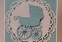 Baby Cards / Visiting a newborn or attending a baby shower, here's the perfect card to compliment any gift.  These can be personalized on request.