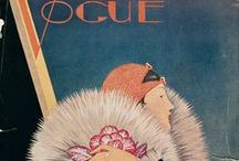 Vintage Vogue covers / vintage vogue covers