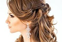 Wedding Hairstyles & Updos / Wedding hairstyle ideas for the big day. From long, medium or short hairstyles, to unique hairstyles and updos, we have something for every bride. No matter what you wedding theme, we are sure you will find the perfect up or down hairstyle. Visit WeddingForward.com for more wedding hairstyles & DIY styling tips.