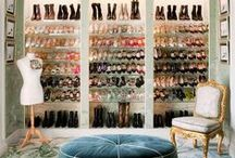 dream closets inspiration / Beautiful french and modern cloesets