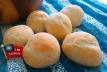 """My homemade bread/ Ev yapımı ekmek / Homemade Only! 我愛烘培,沈浸在麵團的世界裡,這裡是我自己,在土耳其做的""""土耳其麵包"""""""