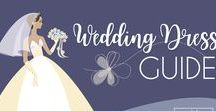 Wedding Infographics / Wedding Infographics to walk you through wedding planning checklist, wedding dress guides, flower vocabulary, bridal beauty, photo and wedding day timeline ideas. SAVE these great wedding infographic for easy wedding planning!