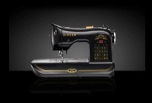 Sewing Machine / The sewing machines in general terms and also something looklikes it that made from another materials.