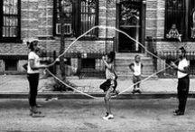 Jeux d'Enfants / [Corde à sauter, Marelle, Cerceau...] / by [R]Minata