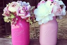 Guest Table Centerpieces / Centerpiece ideas for the garden or the reception hall table